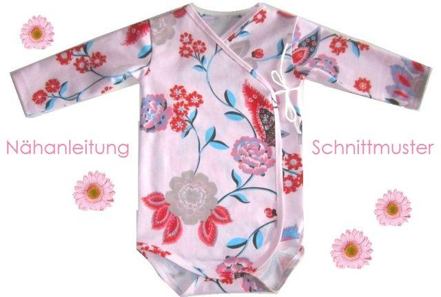Produktfoto von Lunicum zum Nähen für Schnittmuster Baby-Wickelbody