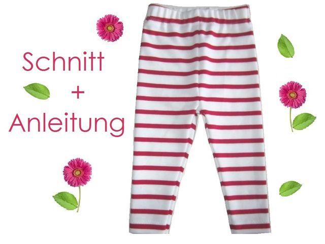Produktfoto von Lunicum für Schnittmuster Leggings Babys + Kleinkinder