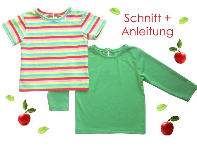 Produktfoto von Lunicum zum Nähen für Schnittmuster Baby + Kleinkinder T-Shirt