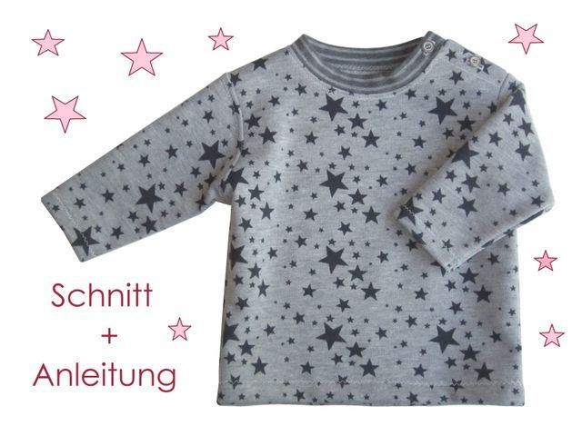 Produktfoto von Lunicum zum Nähen für Schnittmuster Baby Sweatshirt mit Verschluss