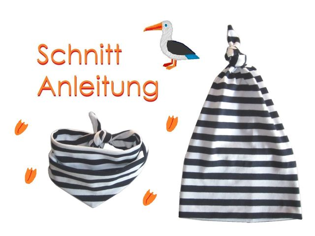 Produktfoto von Lunicum für Schnittmuster Zipfelmütze + Halstuch Kinder