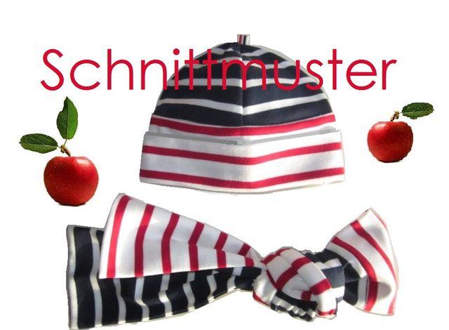 Produktfoto von Lunicum zum Nähen für Schnittmuster Umschlag-Mütze+ Schal