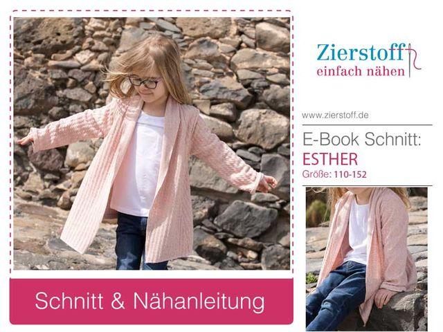 Produktfoto von Zierstoff zum Nähen für Schnittmuster Esther 110-152