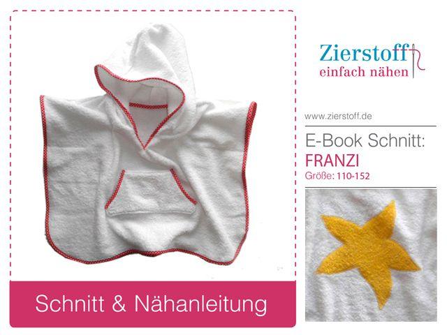 Produktfoto von Zierstoff zum Nähen für Schnittmuster Franzi 110-152