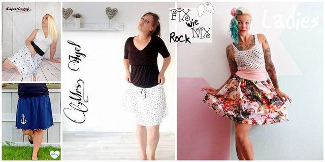 Produktfoto von Engelinchen für Schnittmuster Fix wie nix Rock für Damen