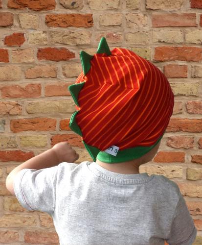 Produktfoto von Windschnittich zum Nähen für Schnittmuster Drachenbeanie