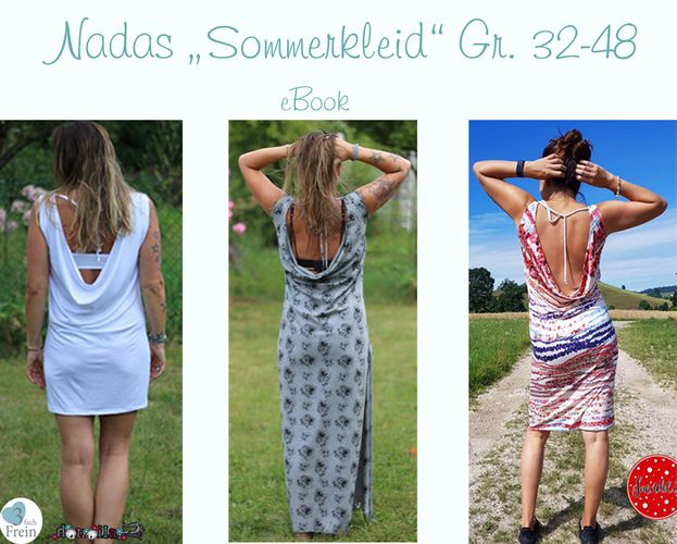 Produktfoto von 3fachFrein zum Nähen für Schnittmuster NaDa's Sommerkleid