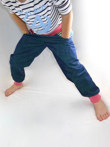 Produktfoto von Windschnittich zum Nähen für Schnittmuster Pumphose