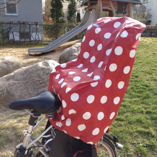 Produktfoto von Windschnittich zum Nähen für Schnittmuster Regenschutz für Fahrradkindersitz