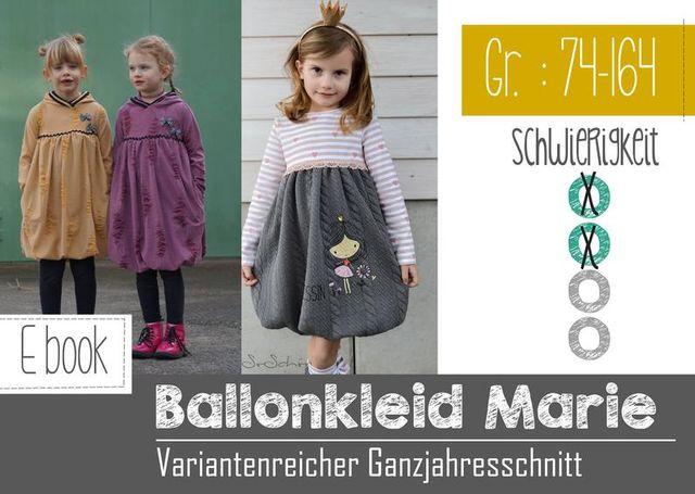 Produktfoto von FeeFee zum Nähen für Schnittmuster Ballonkleid Marie