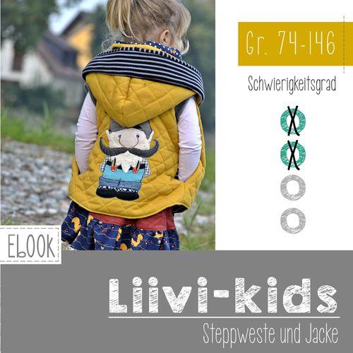 Produktfoto von FeeFee zum Nähen für Schnittmuster Steppweste/Jacke Liivi