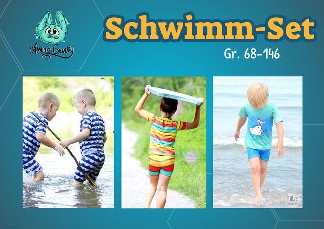 Produktfoto von Annas Country zum Nähen für Schnittmuster Schwimm-Set