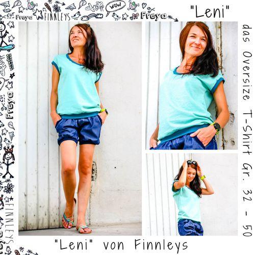 Produktfoto von Finnleys zum Nähen für Schnittmuster Leni