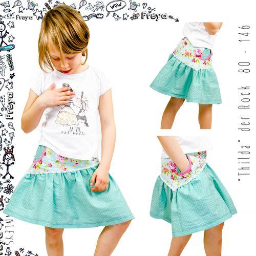 Produktfoto von Finnleys zum Nähen für Schnittmuster Thilda