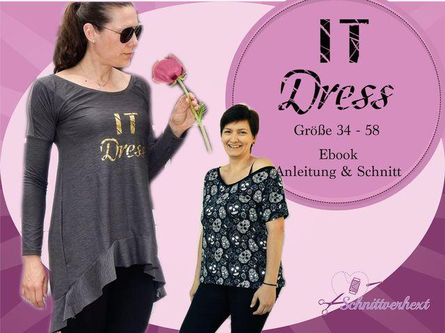 Produktfoto von Schnittverhext zum Nähen für Schnittmuster It Dress