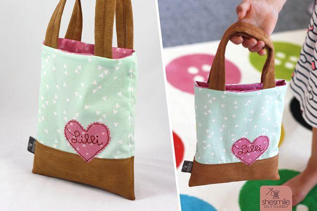 Produktfoto von shesmile zum Nähen für Schnittmuster Tasche Taschilo