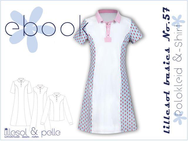 Produktfoto von Lillesol & Pelle zum Nähen für Schnittmuster Lillesol basics No. 57 Polokleid und -shirt