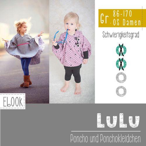 Produktfoto von FeeFee zum Nähen für Schnittmuster Poncho/Ponchokleid Lulu