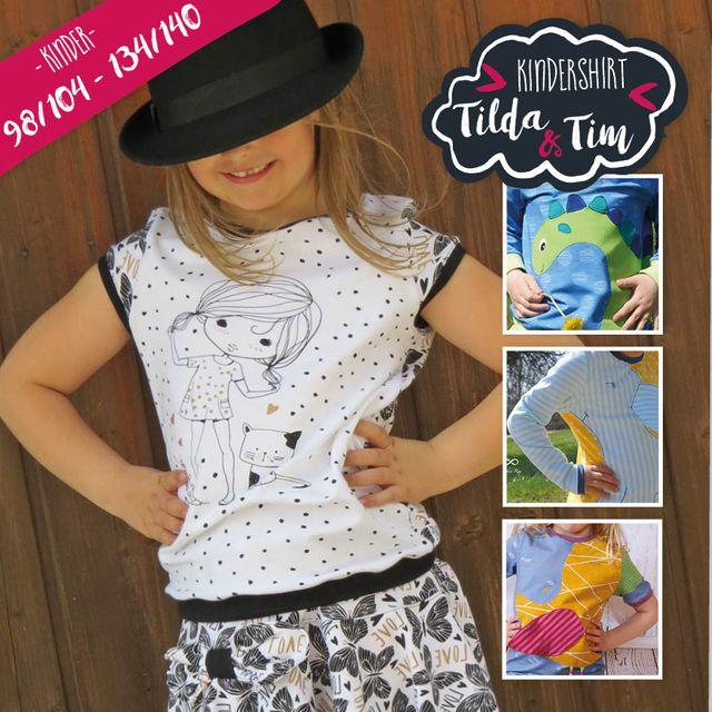 Produktfoto von Katiela zum Nähen für Schnittmuster Tilda & Tim 98-140