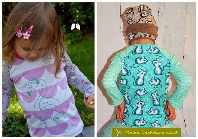 Produktfoto von Engelinchen für Schnittmuster Basic-Shirt Kim