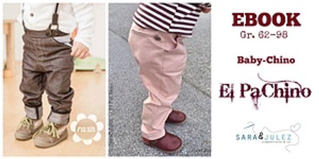Produktfoto von Sara & Julez zum Nähen für Schnittmuster Chino El Pachino