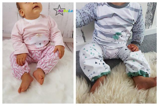Produktfoto von Engelinchen zum Nähen für Schnittmuster Babyhose Milan
