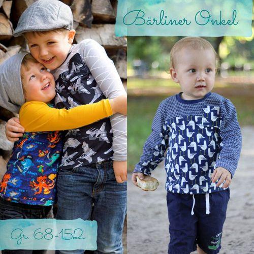 Produktfoto von Berlinerie für Schnittmuster Shirt Bärliner Onkel