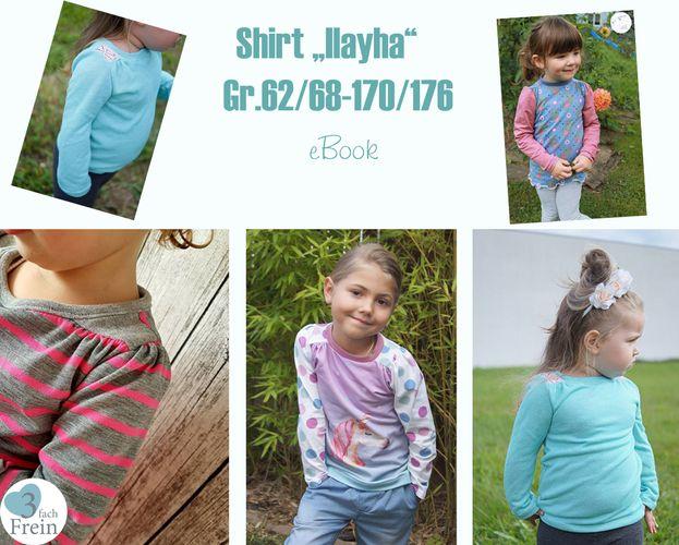 Produktfoto von 3fachFrein für Schnittmuster Shirt Ilayha