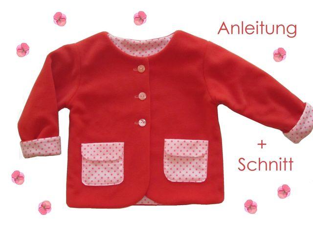 Produktfoto von Lunicum zum Nähen für Schnittmuster Jäckchen mit Taschen