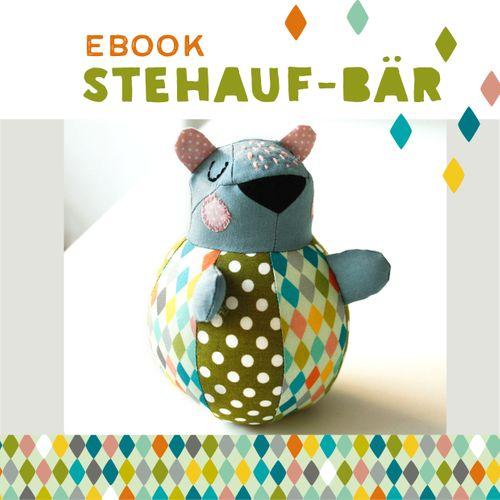 Produktfoto von käselotti zum Nähen für Schnittmuster Stehauf-Bär