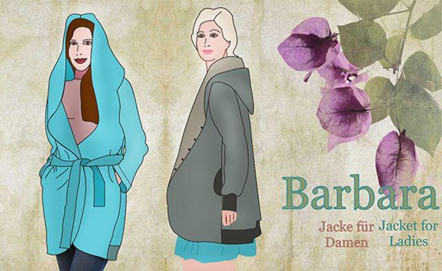 Produktfoto von Mamu Design zum Nähen für Schnittmuster Barbara