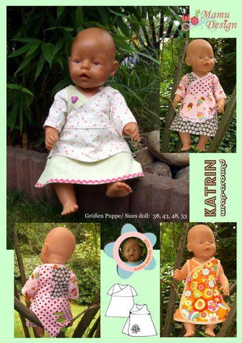 Produktfoto von Mamu Design für Schnittmuster Katrin (für Puppen)