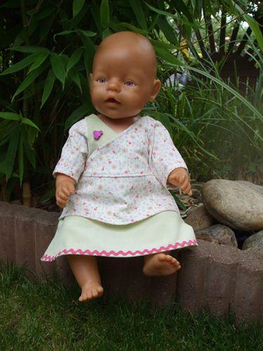 Produktfoto von Mamu Design zum Nähen für Schnittmuster Katrin (für Puppen)