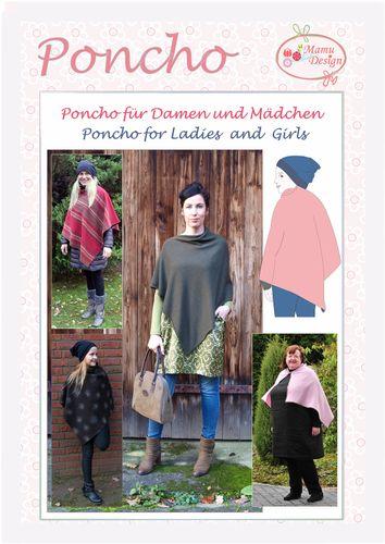 Produktfoto von Mamu Design für Schnittmuster Poncho