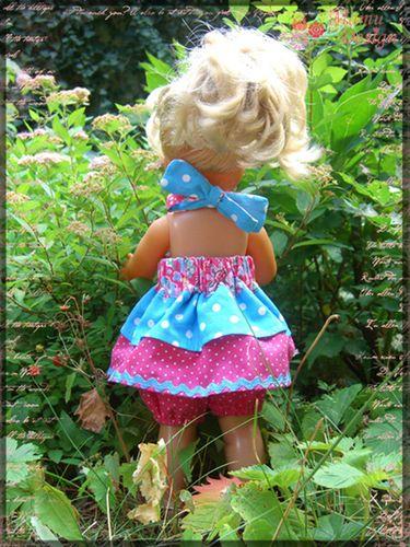 Produktfoto von Mamu Design zum Nähen für Schnittmuster Emily (für Puppen)