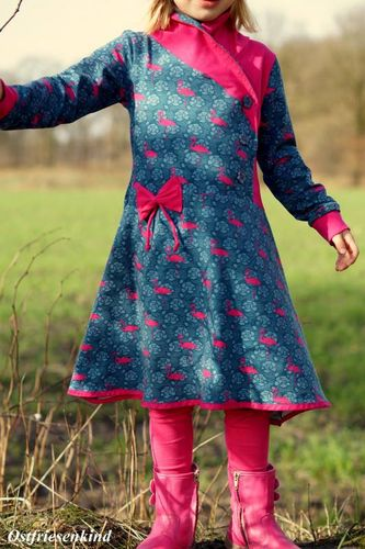 Produktfoto von Zwergnase-Design zum Nähen für Schnittmuster Jerseykleid Lillith 116-158