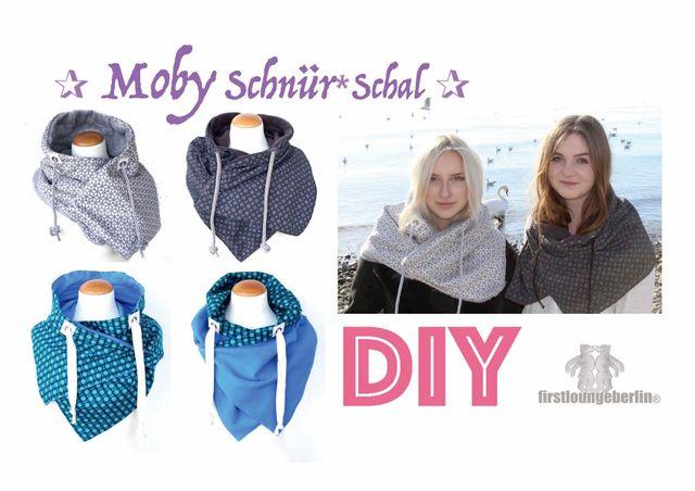 Produktfoto von Firstlounge Berlin für Schnittmuster Schnürschal Moby