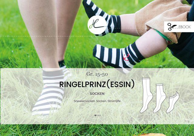 Produktfoto von Hilli Hiltrud zum Nähen für Schnittmuster Ringelprinz(essin) - neue Version