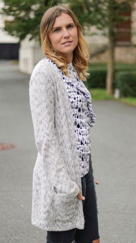 Produktfoto von textilsucht zum Nähen für Schnittmuster Cardigan Lani Damen