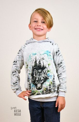 Produktfoto von textilsucht für Schnittmuster Sweater Kuschelwarm Kinder