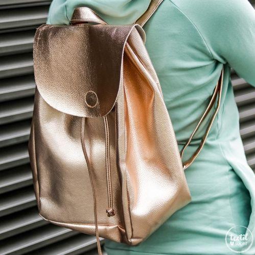 Produktfoto von textilsucht zum Nähen für Schnittmuster Easy Day Bag