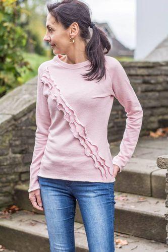 Produktfoto von textilsucht für Schnittmuster Rüschenshirt Damen