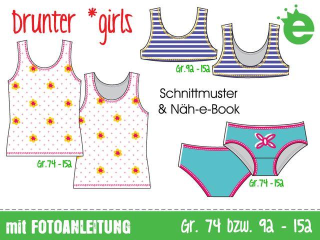 Produktfoto von Erbsenprinzessin zum Nähen für Schnittmuster Drunter girls