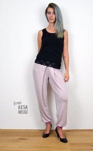 Produktfoto von textilsucht für Schnittmuster Bundfaltenhose Romana