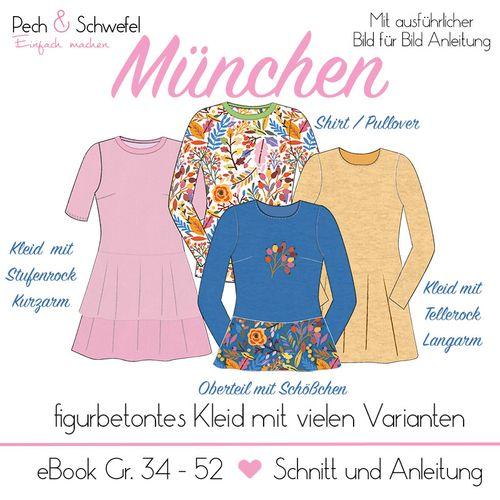 Produktfoto von Pech & Schwefel zum Nähen für Schnittmuster Kleid München