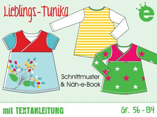 Produktfoto von Erbsenprinzessin zum Nähen für Schnittmuster Lieblings-Tunika