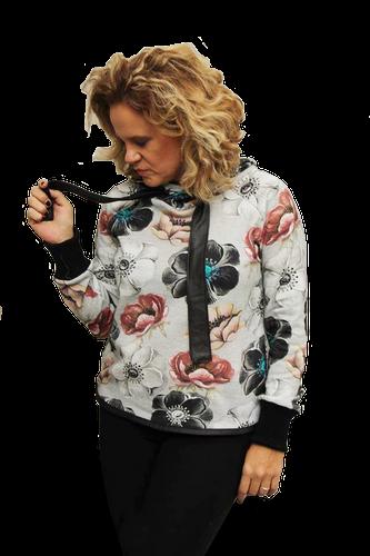 Produktfoto von Fadenkäfer für Schnittmuster Raglanpullover Noa für Damen