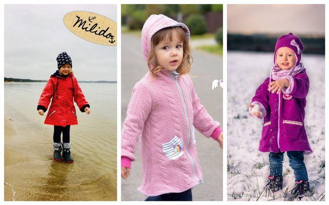Produktfoto von Engelinchen zum Nähen für Schnittmuster Mädchenjacke Marla