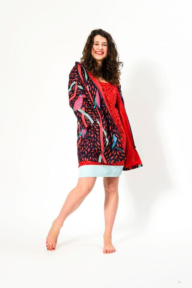 Produktfoto von SO Pattern zum Nähen für Schnittmuster Mantel Nelly Lady