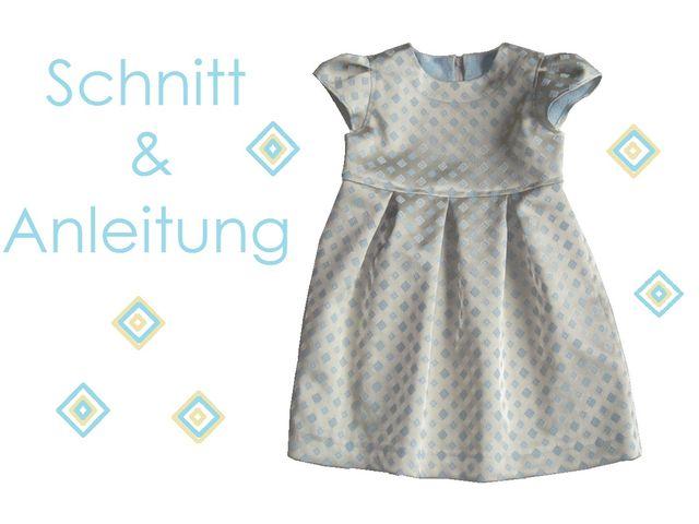 Produktfoto von Lunicum zum Nähen für Schnittmuster Festliches Kleid Romy